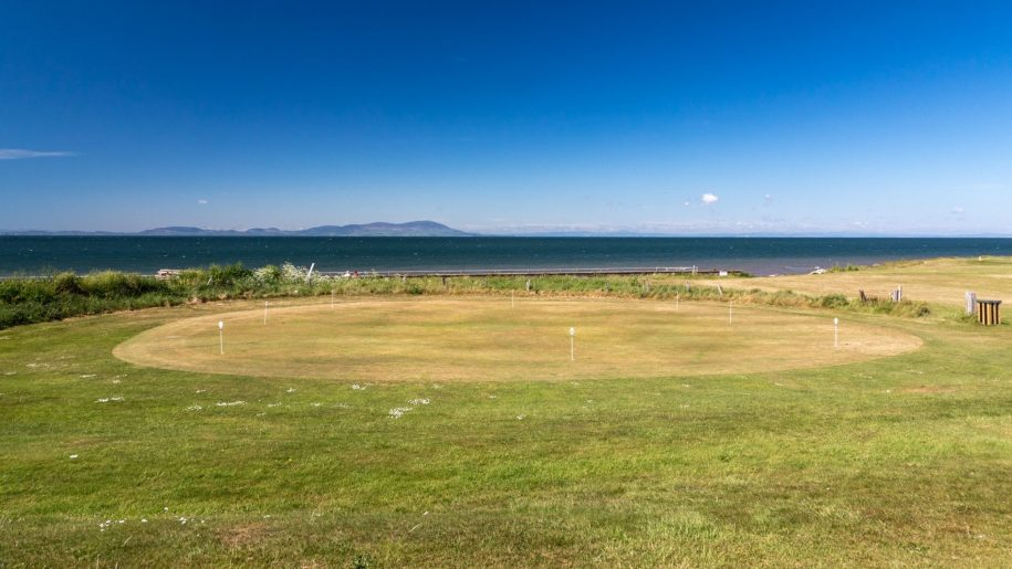 Maryport Golf Course Sea View